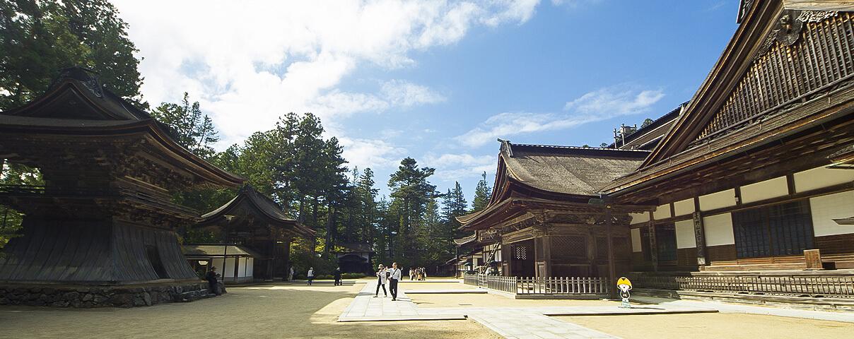 The grand head temple Koyasan Kongobu-ji (Wakayama)