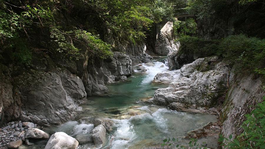 Nibukawa Gorge (Ehime)