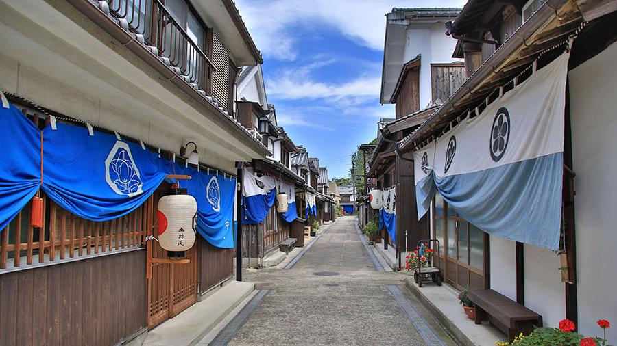Streetscape of Yutakamachi-Mitarai (Hiroshima)